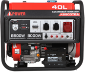 Генератор бензиновый A-iPower A8500TEA 20115
